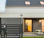 Panel ogrodzeniowy w domu