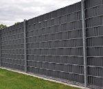 Panel ogrodzeniowy z taśmą 02