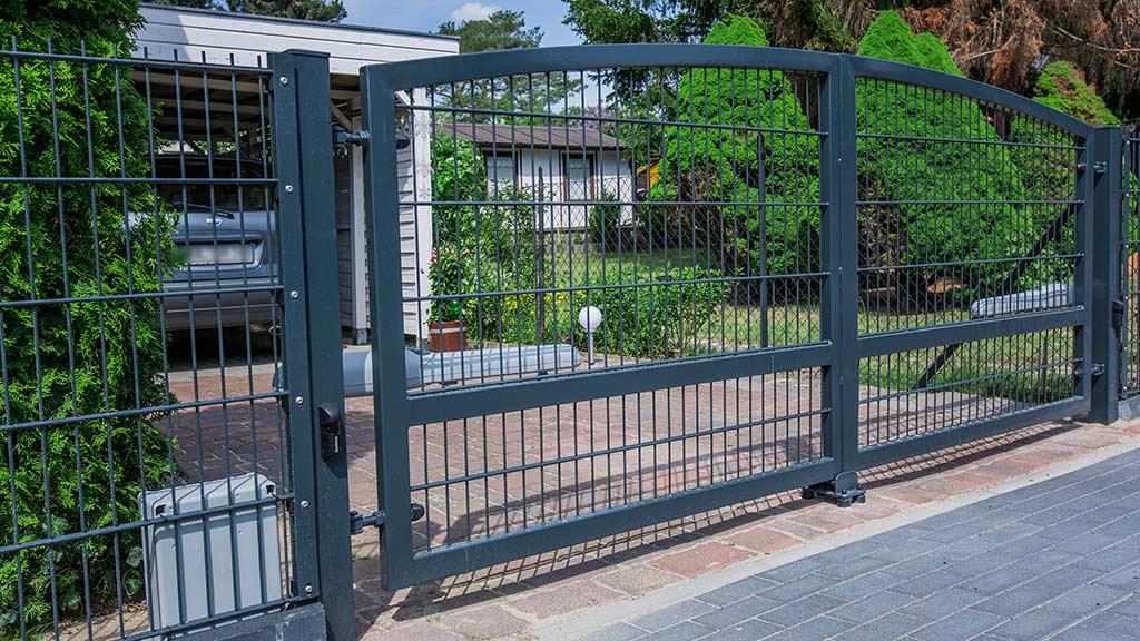 Brama panelowa 03